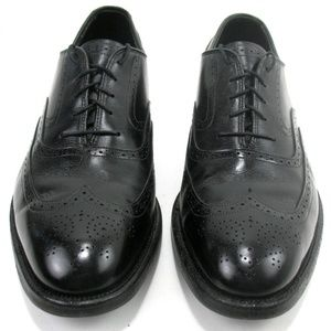 Johnston & Murphy - Wingtip Oxford Shoes Sz 10 D/B
